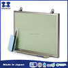 Best sale Japan aluminium frame light weight magnetic surface whiteboard