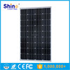 2016 Shinehui brand 100W mono solar panel with long time warranty