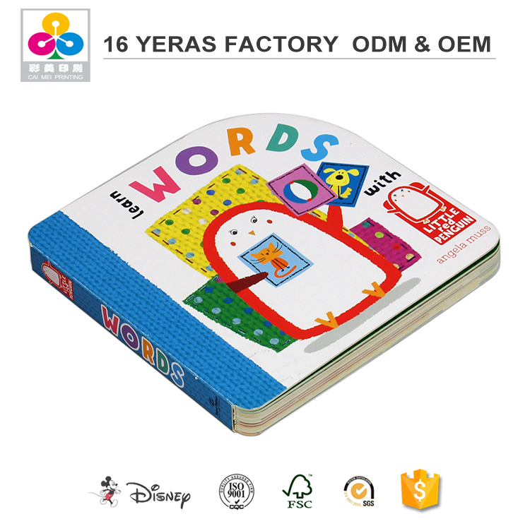 Printing Children Recordable Story Board Book On Demand