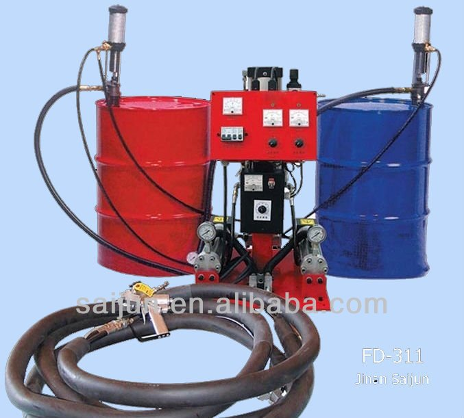 roof insulation pu spray foaming machine