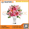 Blooming Home Wedding Decoration Artificial Flower, Hot Selling Fabric Flower, High quality Silk Flower