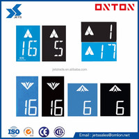 Elevator LCD Display Board for COP LOP HOP White Character Blue/Black Background