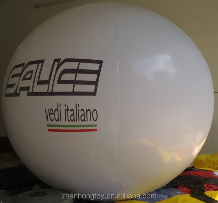 cheap price 2m advertising giant helium pvc balloons with printing
