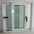 Australian Energy saving Soundproof double glazed Lowe glass aluminum frame office sliding glass window