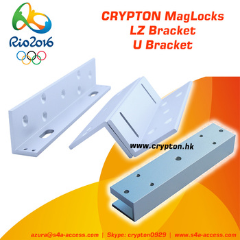 L Z Bracket for 600bls 280KG Magnetic Lock a Part of Access Control System