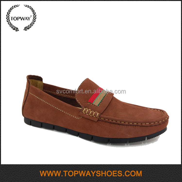 Best seller good quality leather brown men leather shoes genuine