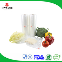 Embossing surface handling and PE plastic type large 11''x50' commercial grade vacuum sealer food saver storage rolls