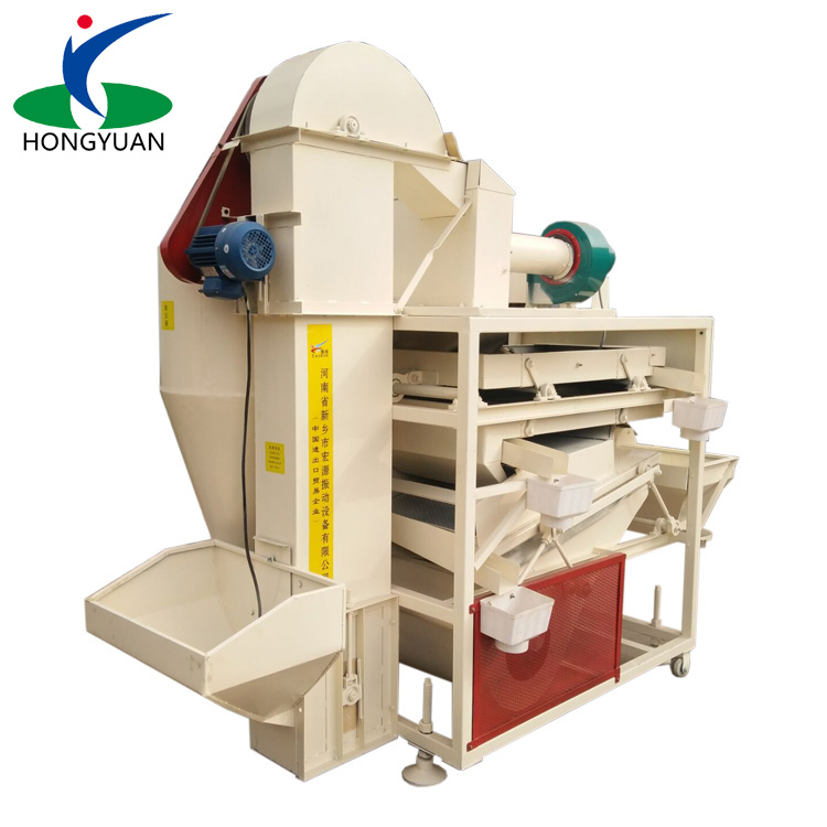 Seed cleaning equipment grain cleaning and grading machine