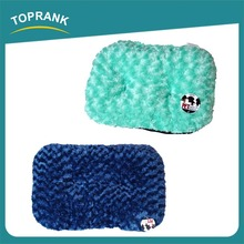 Multi color winter warm indoor thick soft plush dog cushion for pet
