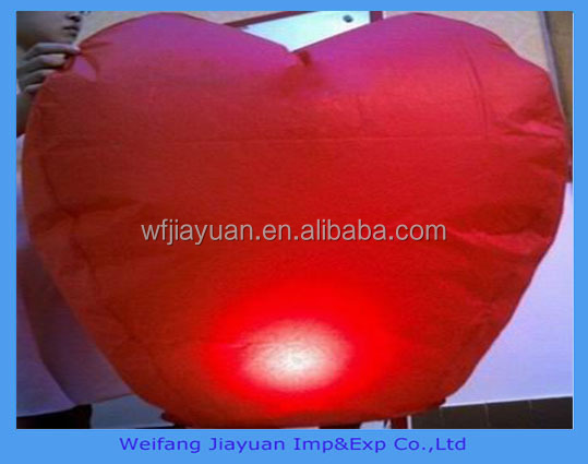 Making a Wishing Lantern Chinese Paper Lanterns Sky fire Wedding Festival Flying Party Lamp