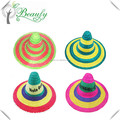 Hot Sale Multi-color Sombrero Straw Hat