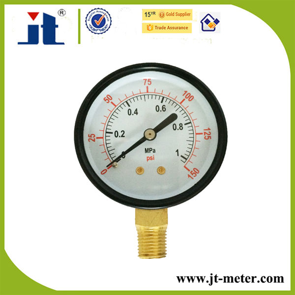 "2.5"" Quality Gauges Type Air Pressure Gauge Meter"