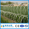 Electric Galvanized Razor Barbed Wire BTO