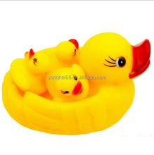 Floating Small Yellow Duck Voice Toy Pinching Called Toys Baby Toys