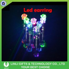 Color Changing LED Party Earrings, LED Electronic Earrings, Glowing LED Earrings
