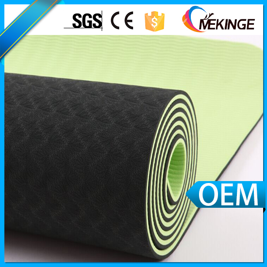 183*61*0.6cm Hot sale Fitness Pilates mat eco friendly tpe yoga mat