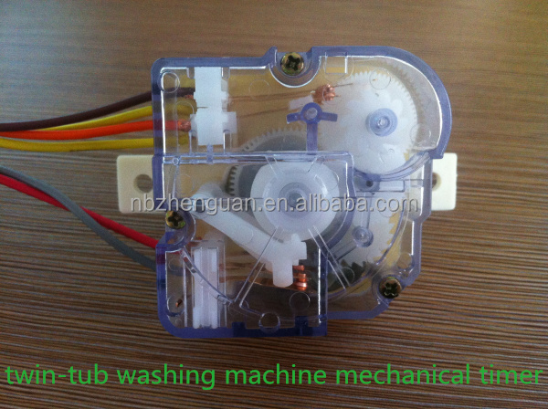 twin-tub washing machine mechanical timer