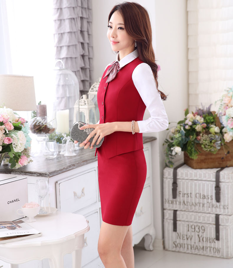 Factory Supplies Lady Cotton Cheapest Hotel Manager Reception Uniform