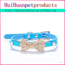 hot sale good quality cyrstal flower pet dog collar