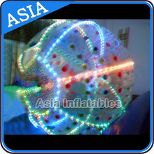 Best LED light inflatable zorb ball human hamster ball zorbing ball
