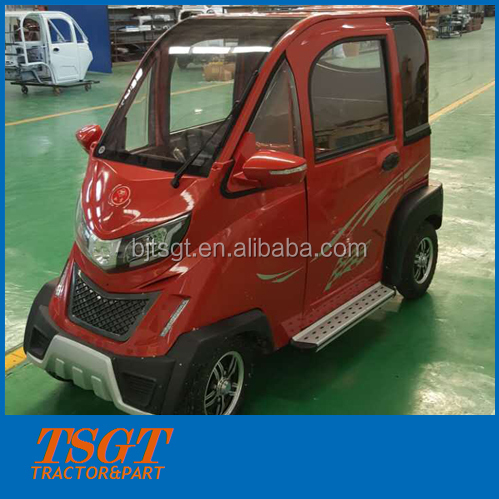 low speed low price and high quality hot selling mini four wheels e-car made in China