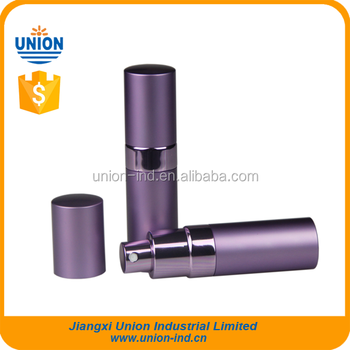 Purple Metal Parfum Atomiser with middle band