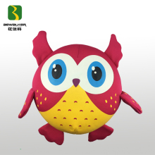 Cute Polyester Foam Bead Filling Owl Shape Toy