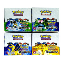 Wholesale 324 Cards/Box Evolutions Pokemon Cards Pokemon Trading Cards Booster Box