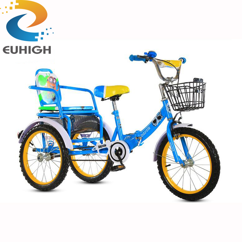 Delivery fold tricycle for kids