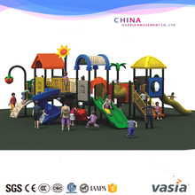 2016Huaxia cheap used commercial kids play outdoor playground equipment for children