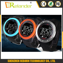 Long time standby 1year waterproof sports watch with whatsapp skype sms reminder