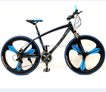 "26"" alloy blue bike with one pc wheel HL-M162"