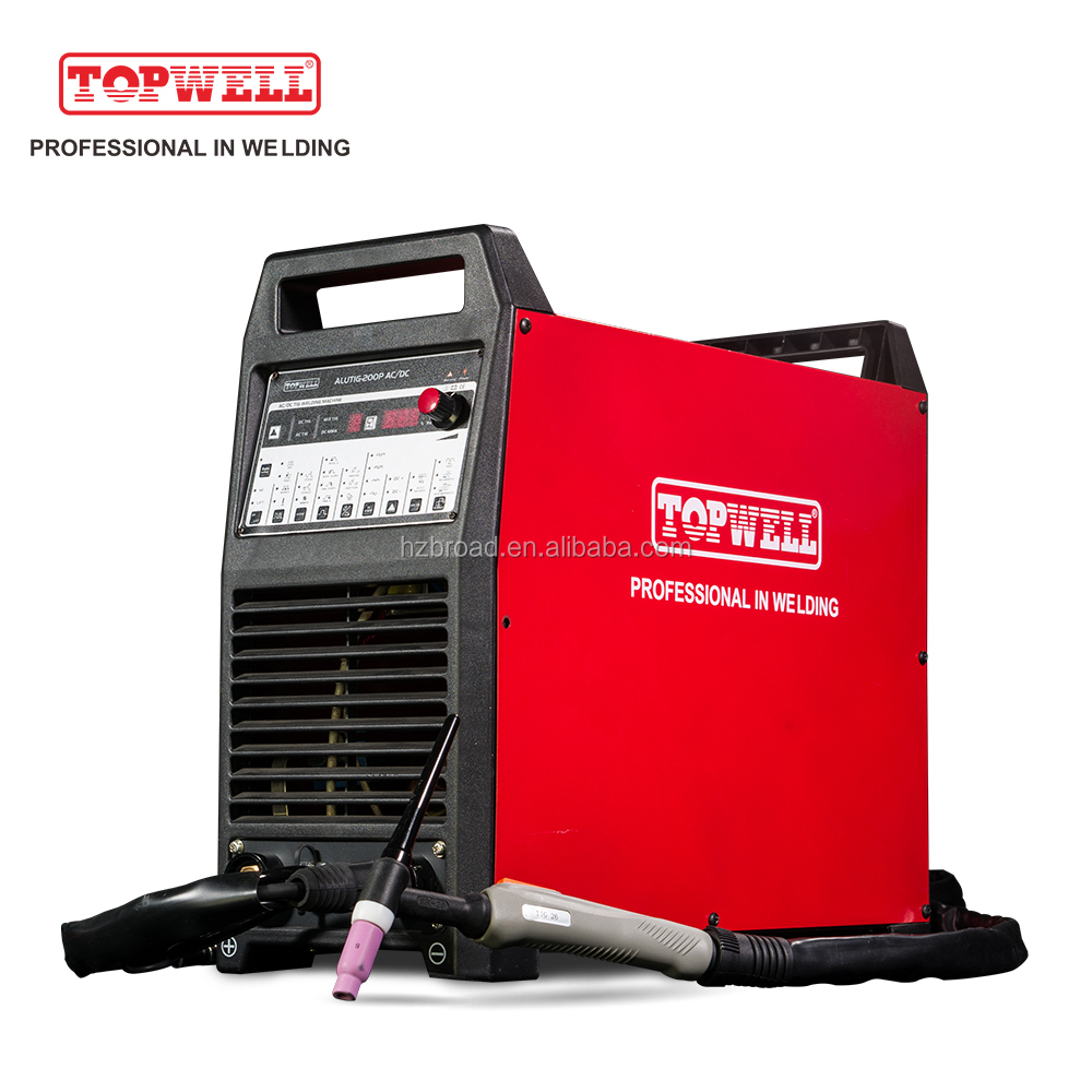TOPWELL High Frequency ac dc TIG Welidng Machine ALUTIG 200P