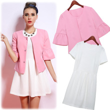 C73303A European style ladies designer skirt suits ladies formal skirt suit