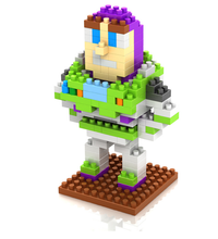 Kid toy story <span class=keywords><strong>buzz</strong></span> <span class=keywords><strong>lightyear</strong></span> didactico diamante bloque de construccion