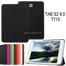 For Samsung Galaxy Tab s2 8.0 T715 leather flip cover case