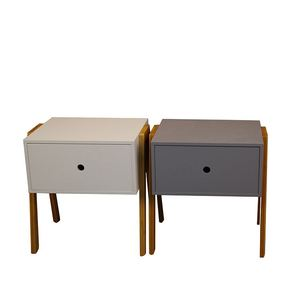 Dreamve Home Furniture Luxury Bedroom Furniture Stand Small Size Bedside Tables