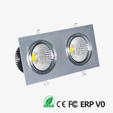 Rotatable IP33 Cutting size 95x 310mm 4000lm 3x10W Dimmable led suspended ceiling light