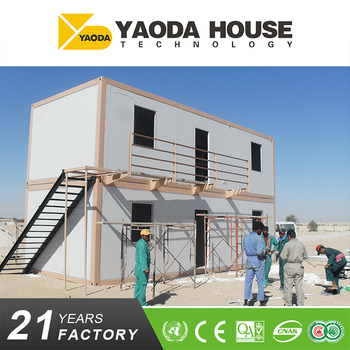 manufacturer two floor design prefabricated house container