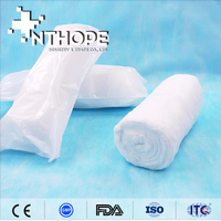 organic fabric disposable production absorbent cotton roll