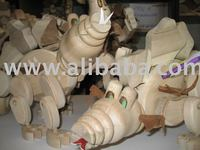 wooden toys, wooden dolls moving figures