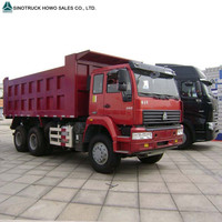Africa popular using cheapest heavy duty 6x4 10 wheel dump trailer howo howo tipper for sale