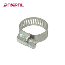 Factory Outlets Miniature Partial Stainless Steel Cable Worm Gear Hose Clamp
