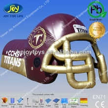 Alibaba best seller for inflatable football helmet, american football helmet, inflatable football helmet tunnel