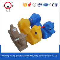 solar horse toy, plastic mould