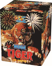 Professional Fireworks Cake and Display shell firework 1.2' 25Shots huge tiger