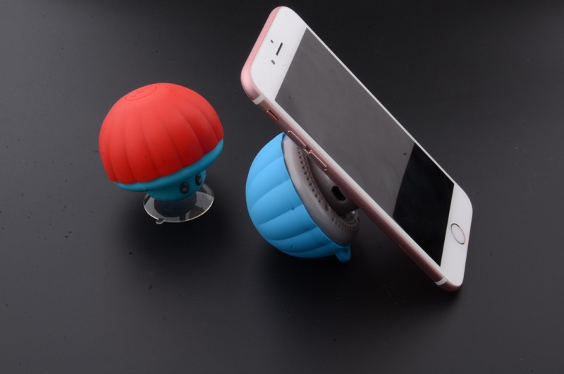 New Hot sale cute IP65 waterproof mini mushroom bluetooth shower speaker