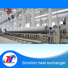 good quality high pressure stainless steel winded heat exchanger