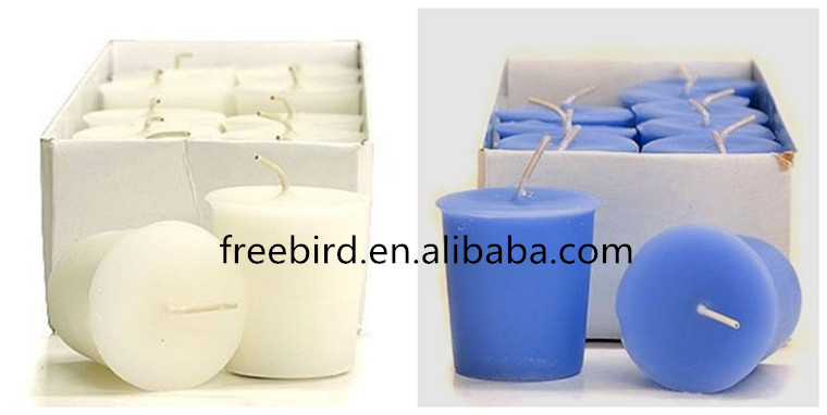 Colorful Wax Exquisite Customized Pillar Scented Soy Candle
