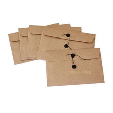 Good quality kraft paper envelope, file bag, envelope printing